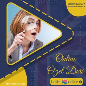 ÖZEL DERS (ONLİNE)